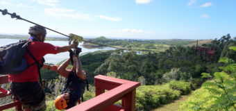 Zipline Adventures in Kauai Hawaii