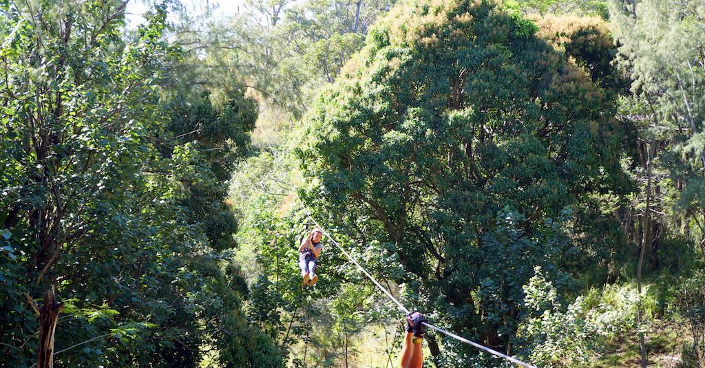 Kauai Zipline with Kids