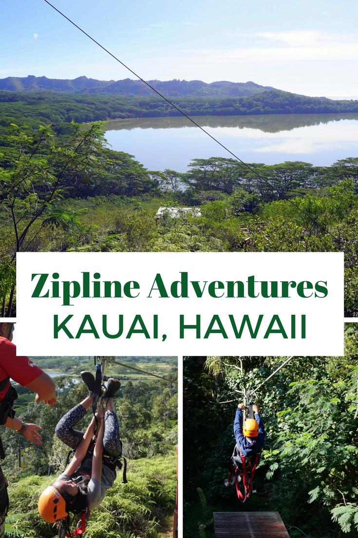 Zipline Adventures Kauai