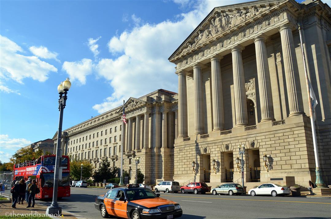 Washington Dc Column Building
