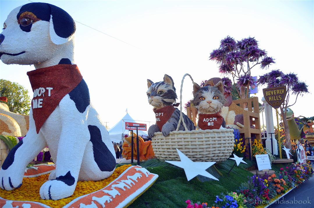Viewing The 2013 Rose Parade Floats Up Close The World Is A Book