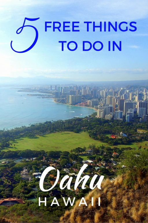 5 Free Things to do in Oahu, Hawaii - The World Is A Book