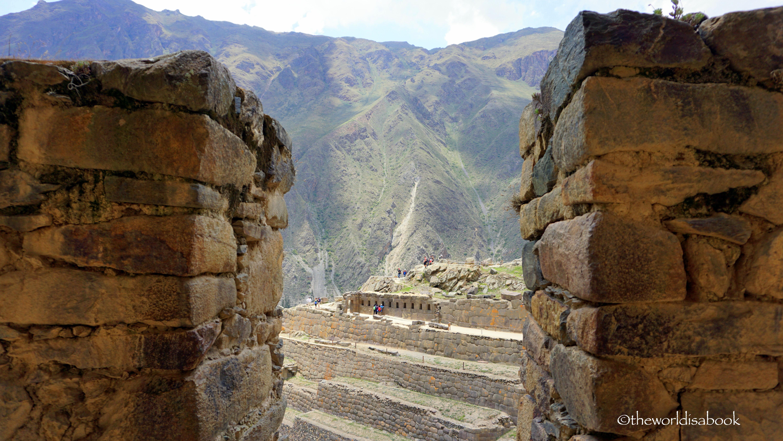 Exploring the Ollantaytambo Ruins in Sacred Valley Peru