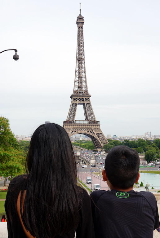 Tips for Visiting and Going Up the Eiffel Tower with Kids